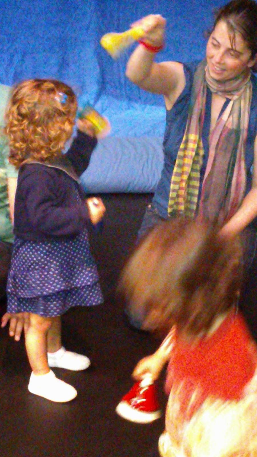 Espectacle nens petits de 1 a 2 anys