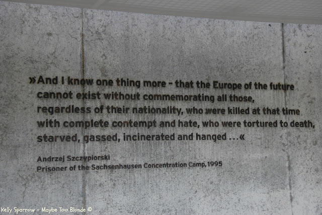 Sachsenhausen concentration camp memorial