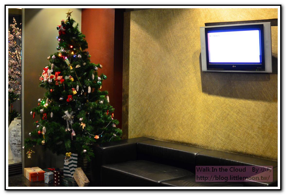 門廳聖誕樹