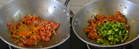 how to prepare capsicum paneer masala
