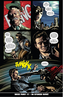 Miss Fury #1 from Dynamite preview page 5