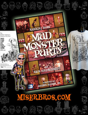 Great for Halloween or any Rankin/Bass' Mad Monster Party fan!