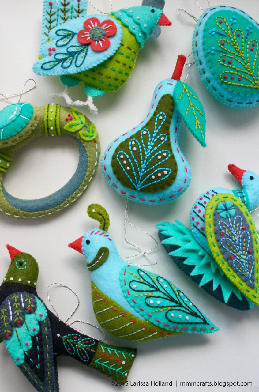 mmmcrafts: finished ornaments and a new Twelve Days resource page on ...