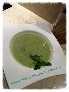 Pratik brokoli çorbası
