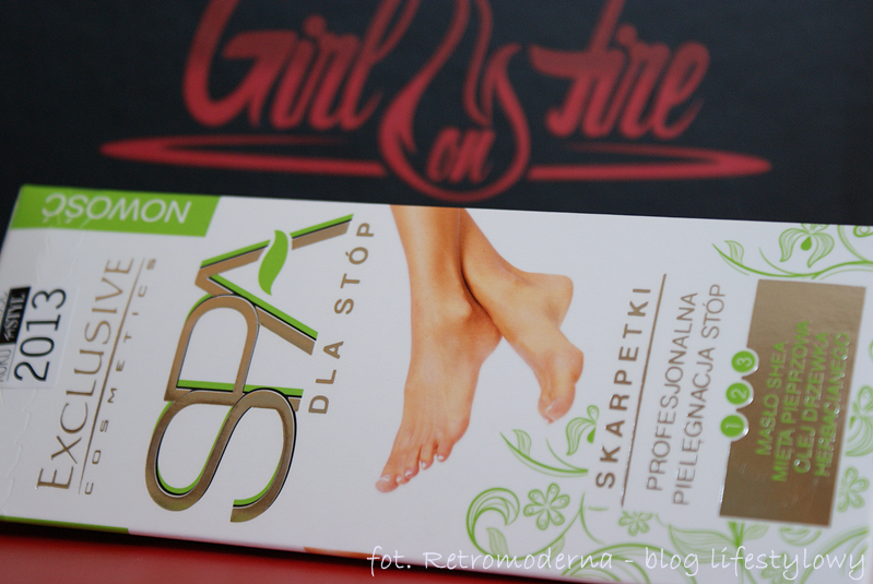 Skarpetki SPA do stóp