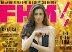Max Collins and Orbs Cover FHM XV! Wow!!