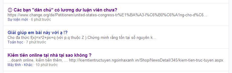 website hỏi đáp