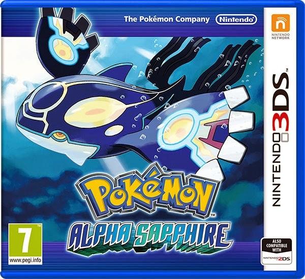 3DS Pokémon Alpha Sapphire Cover