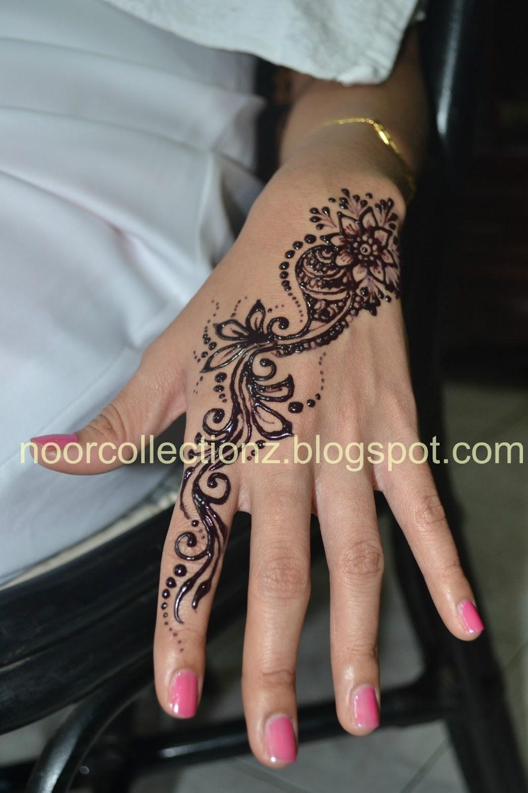 PERKHIDMATAN UKIRAN INAI PENGANTIN Henna Inai Pengantin Simple
