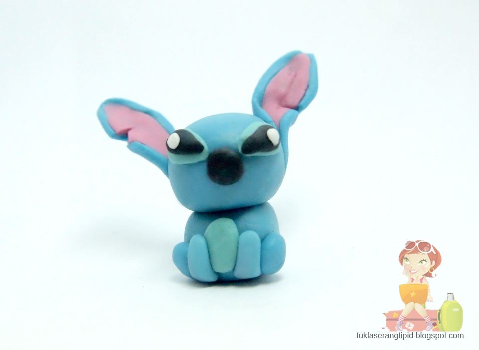 Diy clay art figures tuklaserangmatipid philippine for Lilo and stitch arts and crafts
