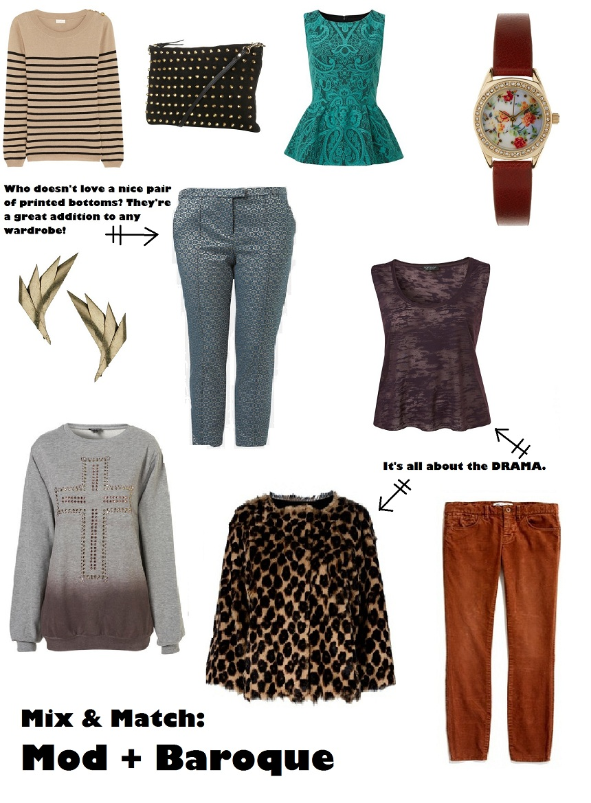 mod, Baroque, Topshop, fashion, fashion blog, Undiscovered Worth