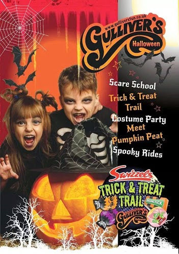 Swizzels Halloween Trick and Treat Trail review Gulliver's World