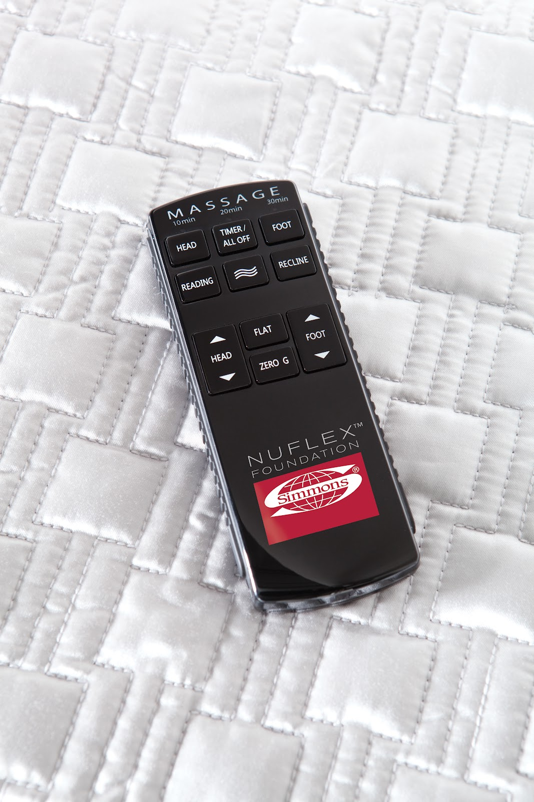 Simmons Adjustable Bed Remote Control : Simmons nuflex adjustable bed base review expert adviser