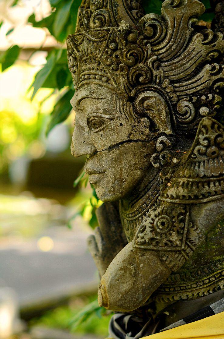Bali Statue, Legian beach hotel, Bali, Indonesia