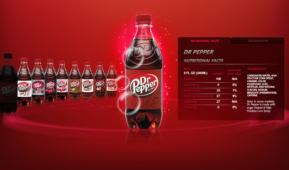 dr pepper marketing mix The 4 p's of marketing dr pepper snapple group 1 making products available when and where customers want them 2 physical distribution storing.