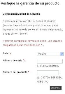 identificación de producto