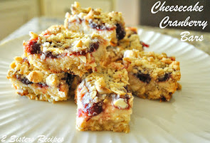 Cheesecake Cranberry Bars