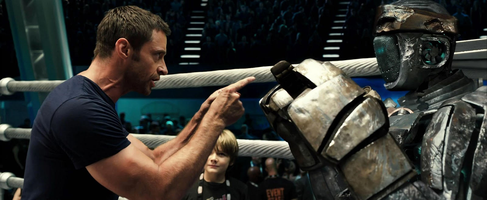 """... BOXING COMES ALIVE IN """"REAL STEEL"""" - Hello! Welcome to my blog"""