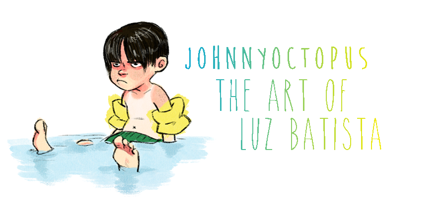 Johnny Octopus's Blog: The art of Luz Batista