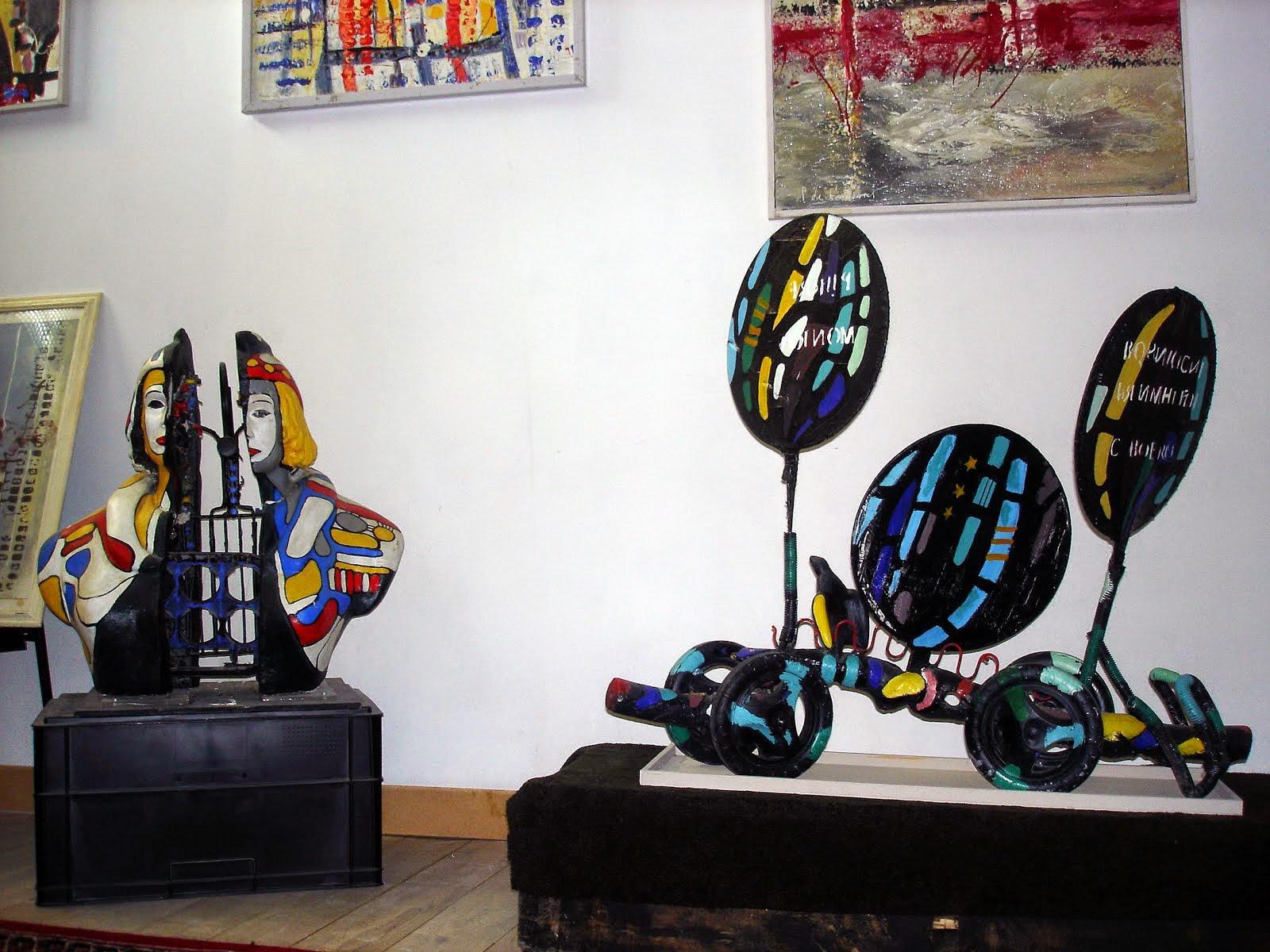 P de Bancourt   :sculpture 2014
