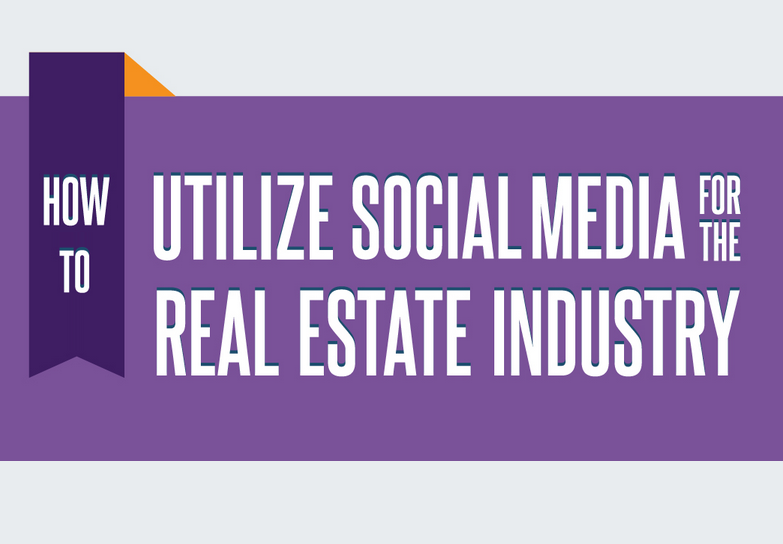 How to Use Social Media for Real Estate Marketing - #infographic