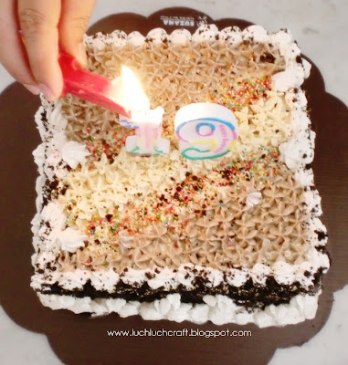 pretty cake decoration