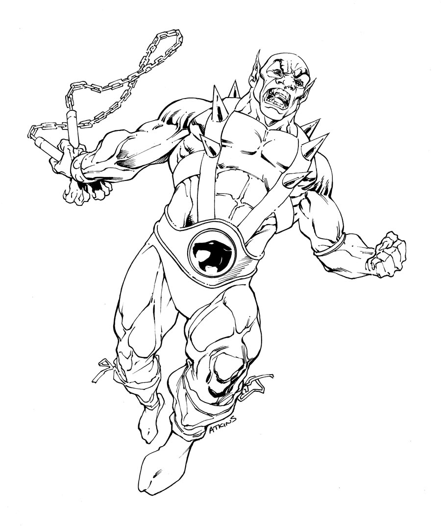 thundercats are loose - Thunder Cats Coloring Book Pages