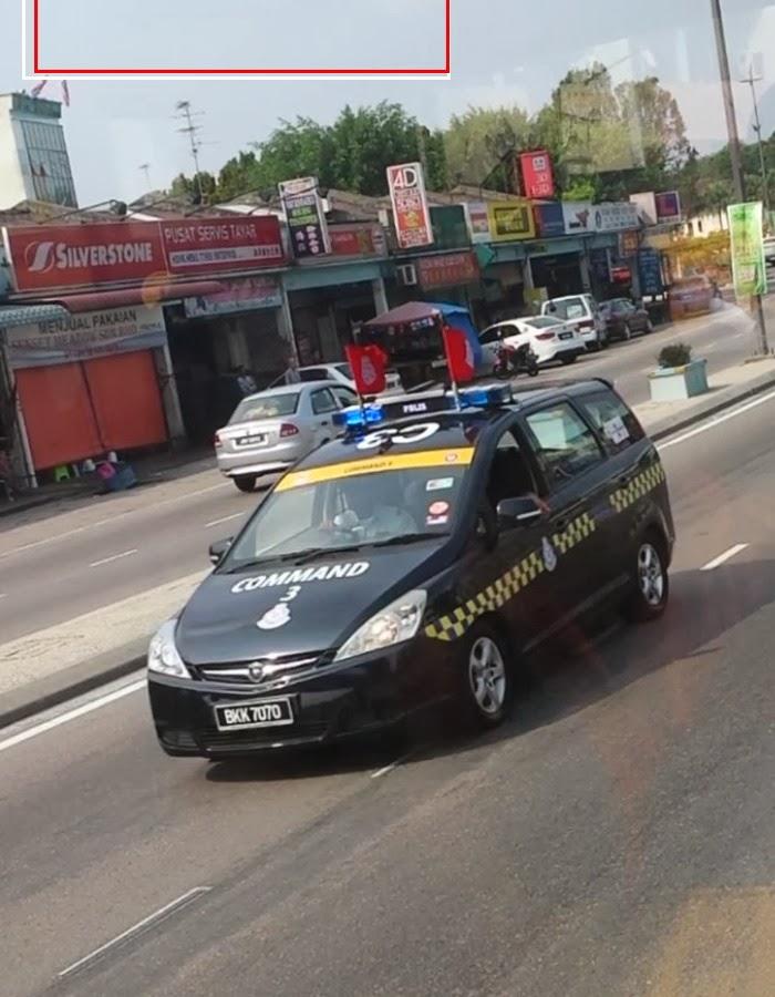 Proton Exora Police Car Commad 3