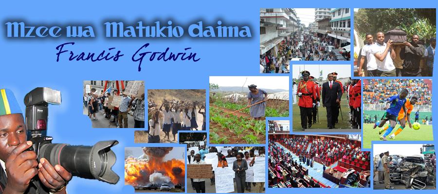 Francis Godwin ::Mzee wa matukio daima::
