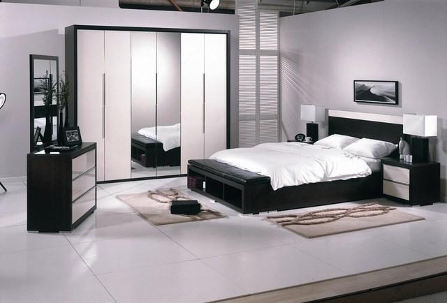 Fotos de habitaciones color blanco y negro dormitorios - Dormitorios blanco y negro ...