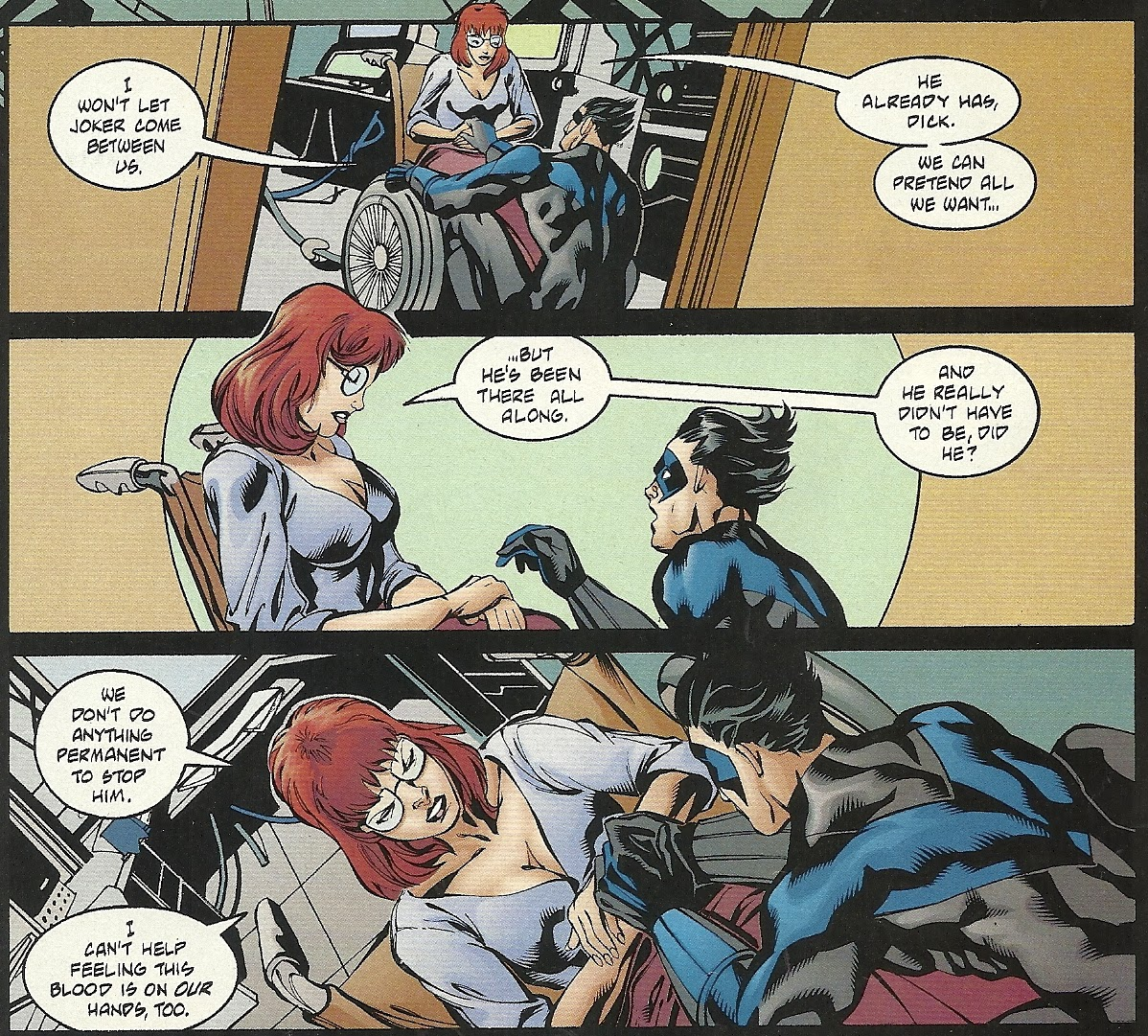 Impreg Comics Simple every day is like wednesday: review: batman: the joker's last laugh