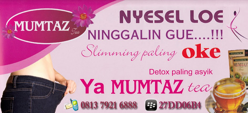 Obat Pelangsing | Mumtaz Tea | Langsing | Langsing Cepat | Turun Berat Badan | Diet Sehat