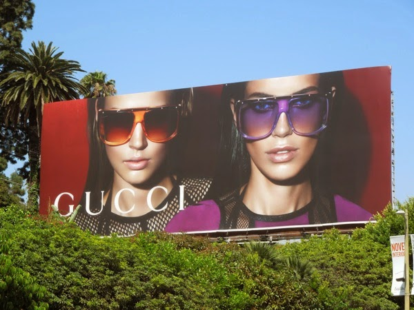 Gucci Eyewear Spring 2014 billboard