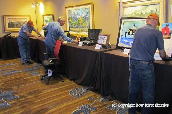 how to set up a silent auction