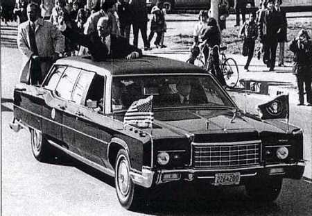 Secret Service agents protecting President Ford