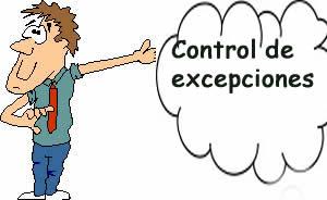 Control de excepciones