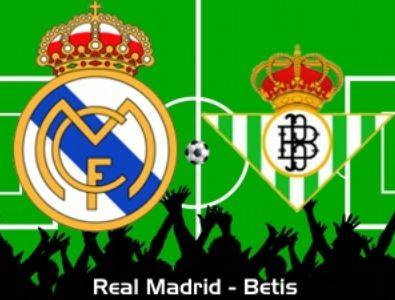 InfoDeportiva - Informacion al instante. REPETICION REAL MADRID VS REAL BETIS BALOMPIE. Goles, Resultados, Estadisticas, Online