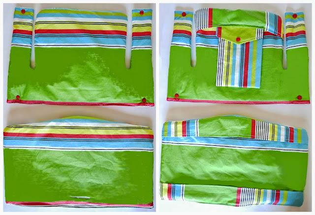 C mo hacer una funda de trona colours for baby for Coussin tripp trapp patron