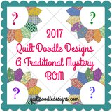Quilt Doodle Block of the Month 2017