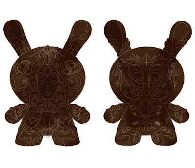 "It's a F.A.D. 8"" Dunny by JRYU x Kidrobot"