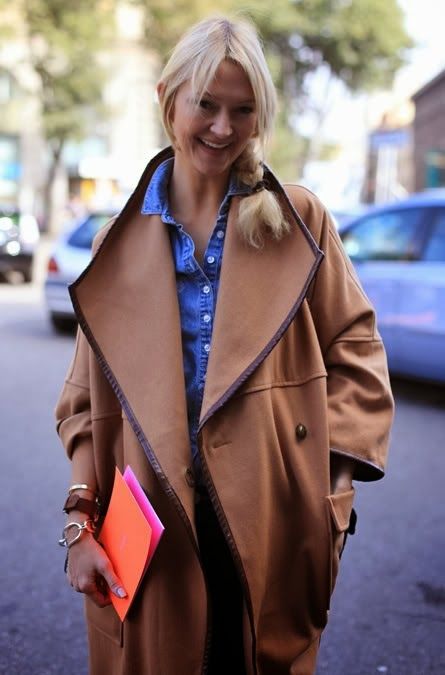 Zanna Roberts Rassi Camel Coat Trend Street Style