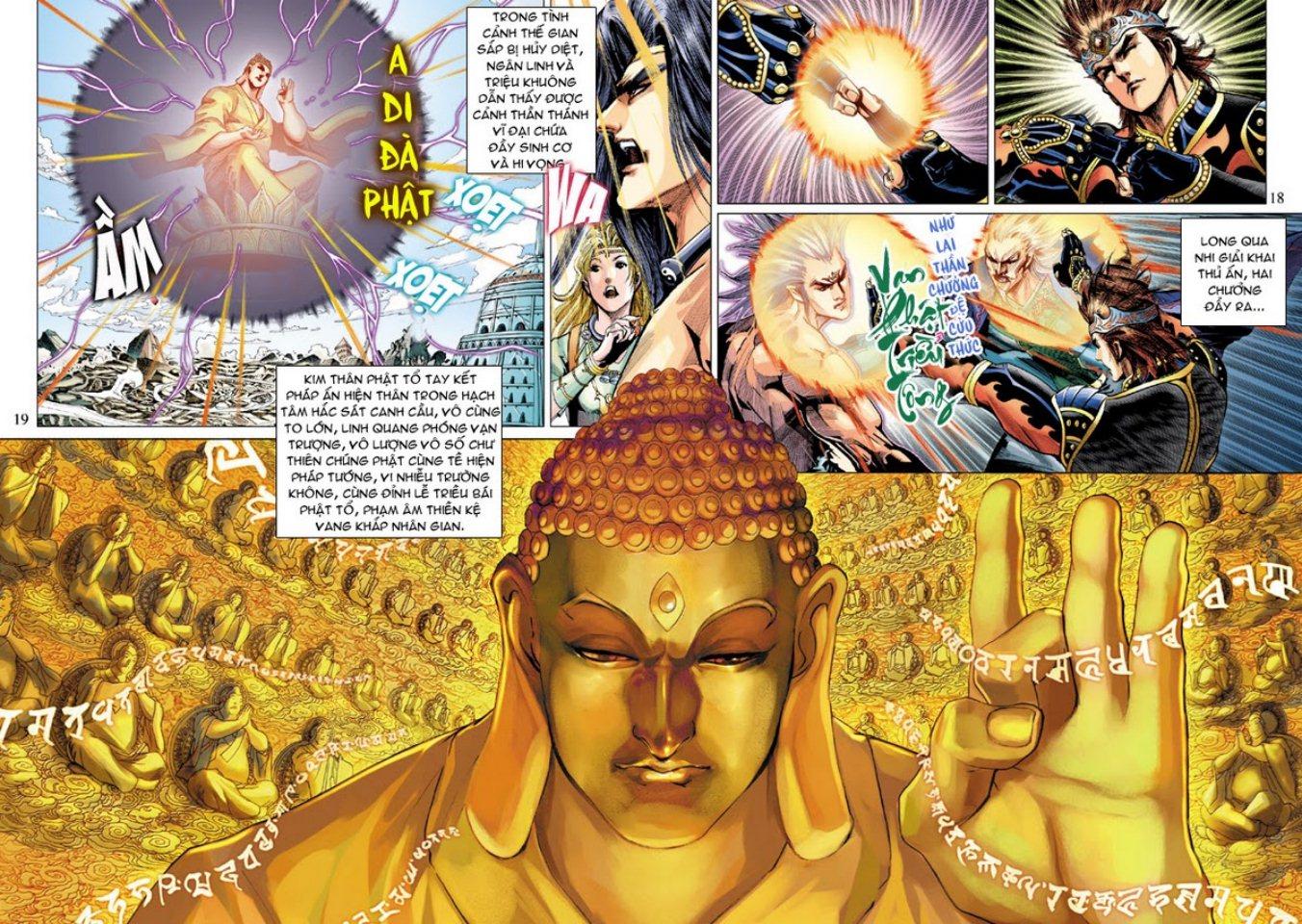 Thiên Tử Truyền Kỳ 5 - Như Lai Thần Chưởng chap 214 - Trang 18