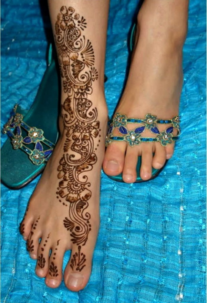Mehndi Designs For Legs For Marriage Celebrity Beauty