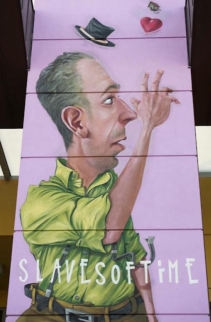 Street Art Piece By Macs For the 24th Biennale Del Muro Dipinto In Dozza, Italy 2