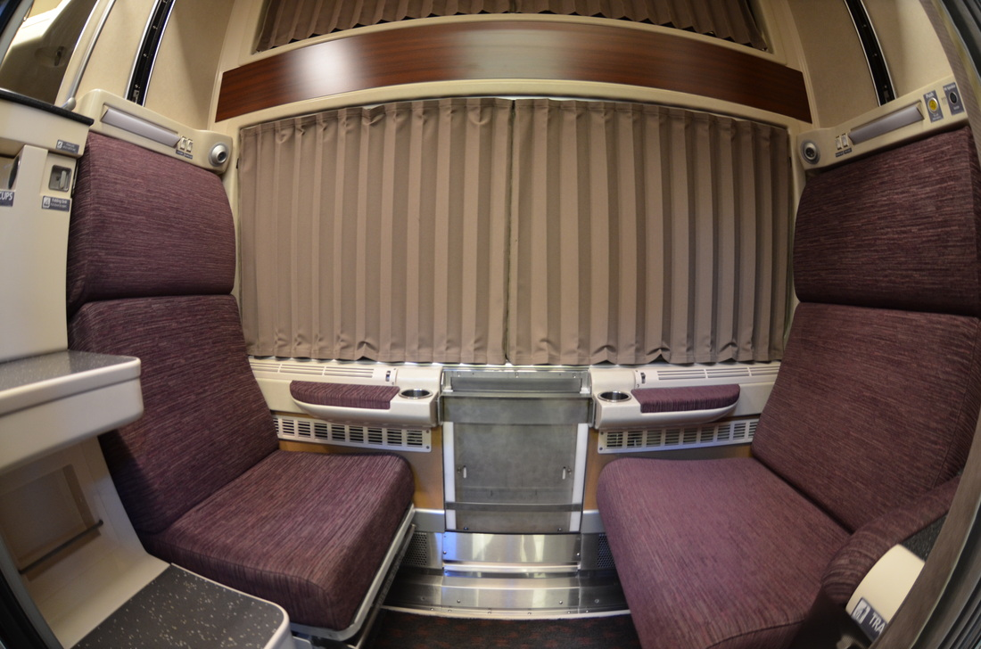 Amtrak Superliner Roomette The Hippest Pics