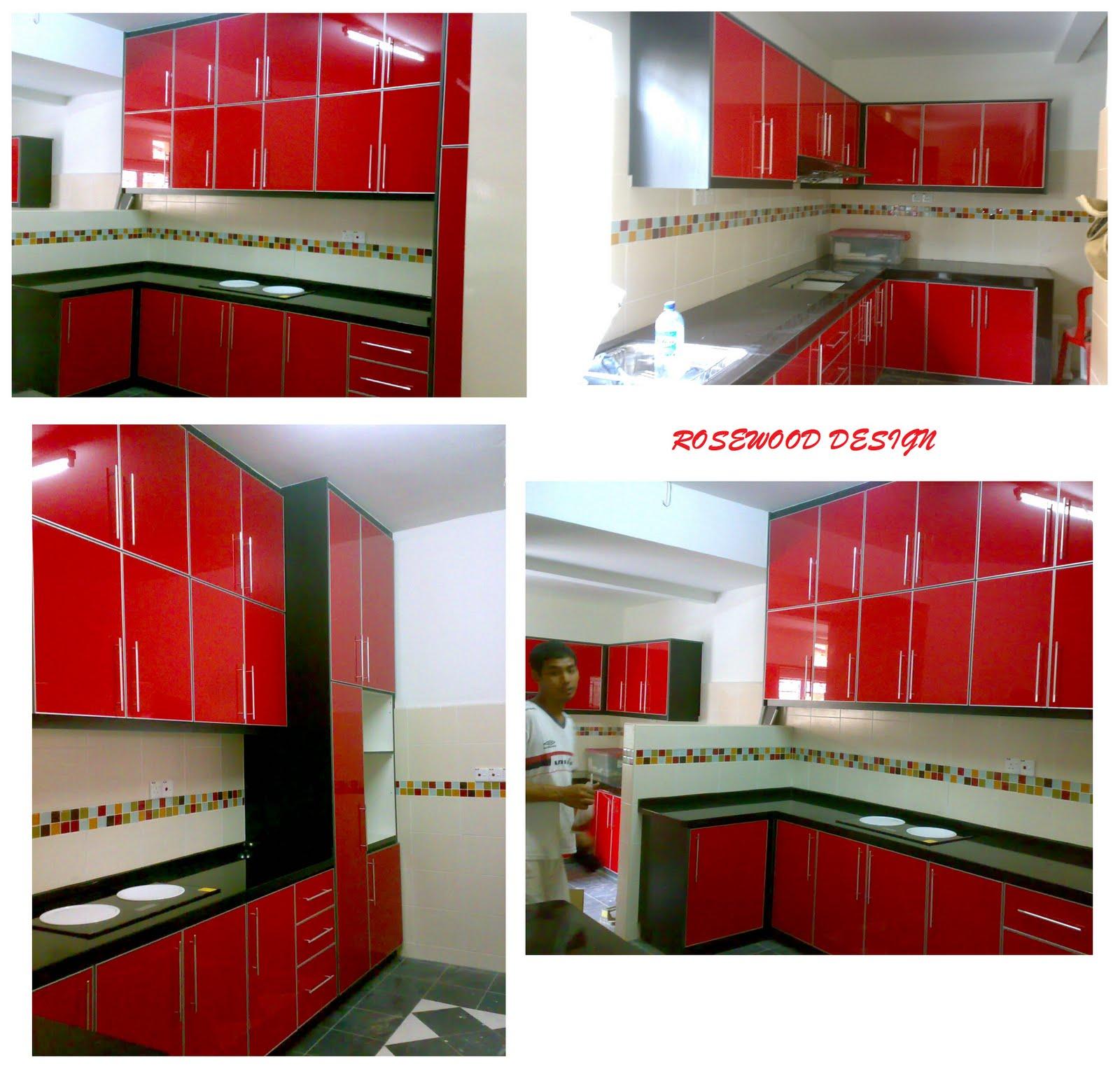 Rosewood Design Kabinet Dapur