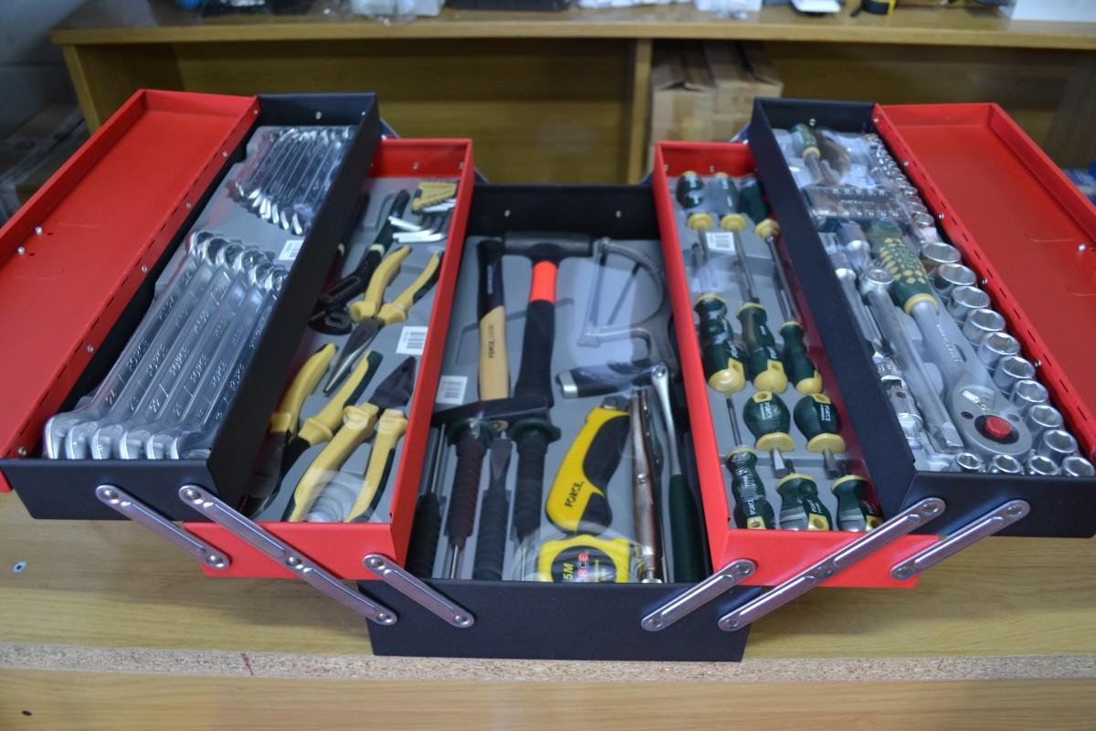 Dotación herramientas Force