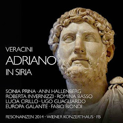 AVAILABLE NOW IN EUROPE: Veracini's ADRIANO IN SIRIA from Fra Bernardo