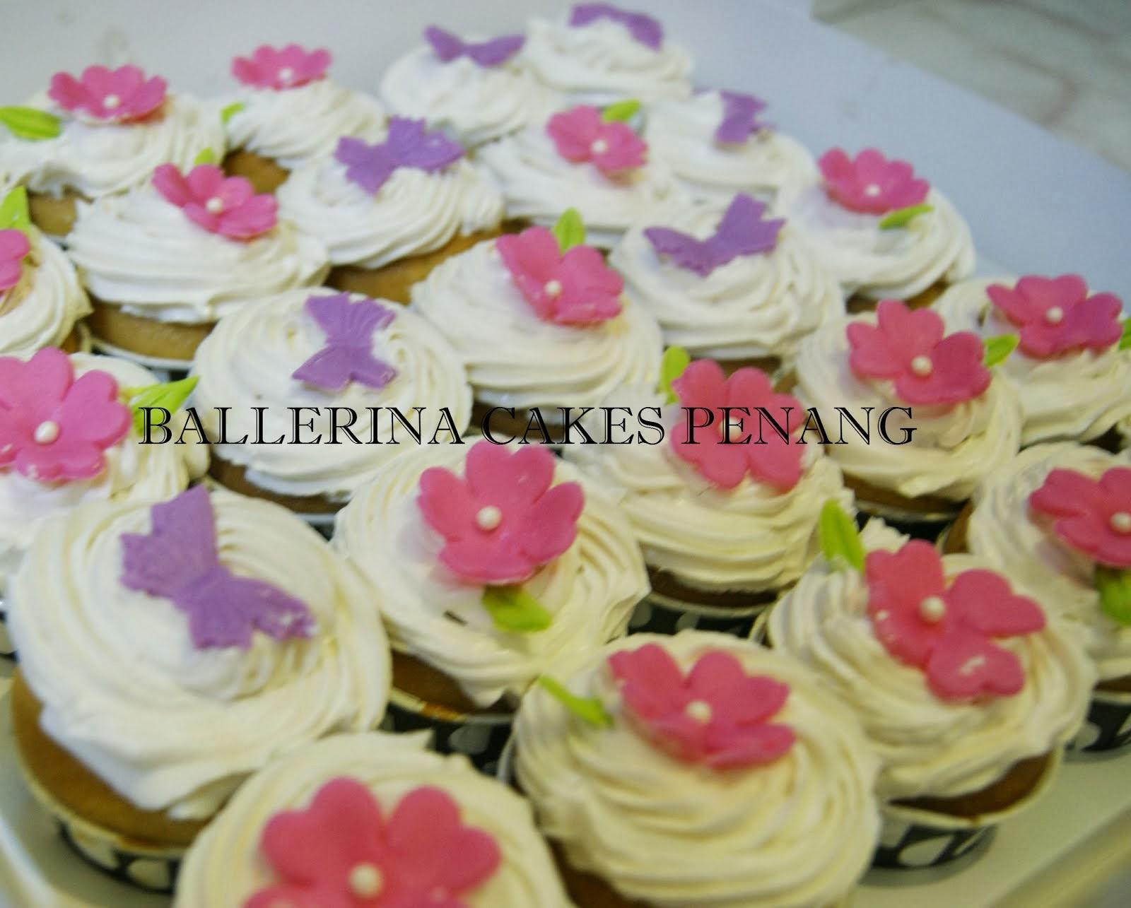 Cupcake Butterceam atau Krimwell (icing putih)