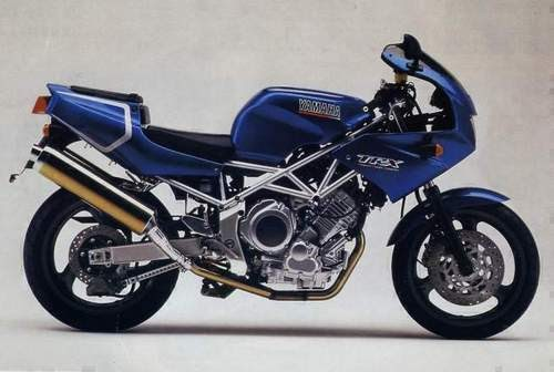 19961997 Yamaha TRX 850 service manual   Guide Handbook